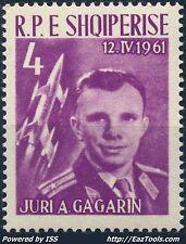 ALBANIE GAGARINE N° 565 NEUF ** SANS CHARNIERE