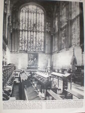 Photo article Rubens Adoration of the Magi King's College Chapel Cambridge 1964