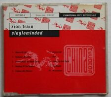 Zion Train Singleminded Rare German Advance CD Diff Cover Dub