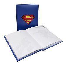 Nuevo Superman: Oficial DC Comics Iluminado Logo Libreta Tapa Dura Luz Up