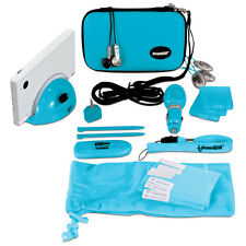 New Blue dreamGEAR Nintendo DSi 18 in 1 Starter Kit Case Stylus Charge Dock