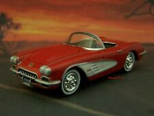 1959 59 CHEVY CORVETTE ROADSTER  1/64 SCALE DIECAST MODEL DIORAMA OR DISPLAY