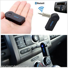Mini Car Wireless Bluetooth 3.5mm AUX Audio Stereo Music FM Receiver Adapter Mic