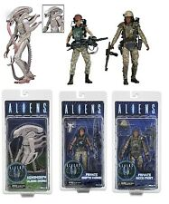 "NECA ALIENS SERIES 9 SET of 3 ACTION FIGURES 7"" SCALE VASQUEZ, FROST, ALBINO"