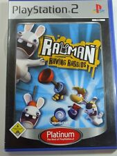 PLAYSTATION PS2 GIOCO Rayman Raving Rabbids, usato ma OK