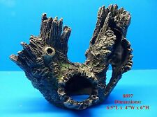 TREE TRUNK DETAILED 8897 AQUARIUM DECOR RESIN FISH TANK REPLICA LOG ORNAMENT
