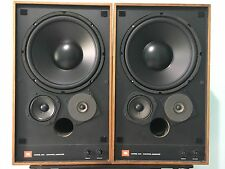 VINTAGE PAIR JBL 4311 WXA  MONITOR LOUDSPEAKERS WALNUT