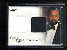 James Bond in Motion DC04 costume card 147/1200
