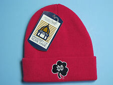 Notre Dame Fighting Irish Cuffed Knit Hat Toddler Clothes Beanie Hat Pink NWT