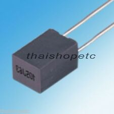50 x 0.22uF 220nF 100V 105C 5% Metalized Polyester Film Capacitor stacked
