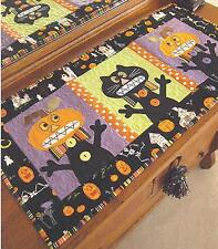 EEEEK! halloween table runner quilt pattern by Cleo and Me