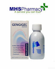 Gengigel Mouth Rinse 150ml Gum Disease,Inflamed Damage Tissue Treatment Hygeine