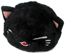 FuRyu Nemuneko Cute Fluffy Long Tail Neko Cat Big Cushion Plush AMU7343 ~ Black