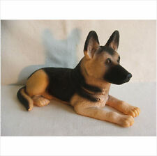 LYING GERMAN SHEPHERD DOG  .LATEX MOULD/MOULDS/MOLD