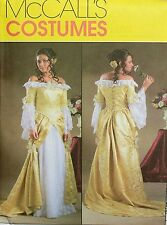 MCCALLS PATTERN 4414 OOP MISSES RENAISSANCE PRINCESS DRESS COSTUME SIZES 6-12