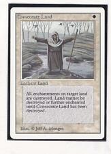 MTG: Unlimited: Consecrate Land