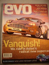 Evo Magazine # 25 - 190E Cosworth guide - X5 - Corsa group test - M3 - Vanquish