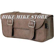 Werkzeugtasche Werkzeugrolle VINTAGE Tool bag braun / brown 30,5x12,5x6,4