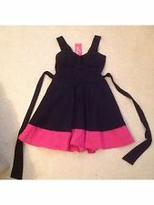 Black Dress with Pink Trim from Wal G, New with Tags
