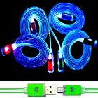LED Micro USB Cable Charging Cord Sync Charger For Android Cell Phones Lot b342