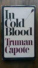 Truman Capote – In Cold Blood (1st/1st UK 1966 hb with dw) David Bowie