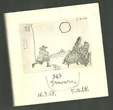 Picasso, 347 gravures, 16-3-68 au 5-10-68, livre, 1968,  RARE !