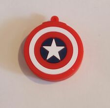 Captain America Shield Usb Stick 32gb Memory Super Hero Keyring Pc Gift Computer