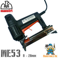 Maestri me53 Professional electric Tacker / Cucitrice / bradder (53 serie)