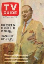 1968 TV Guide January 13 - Bob Hope; Marlo Thomas; Mannix; High Chaparral; Super