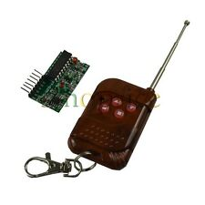 433MHz RF Wireless Controller Module for Remote Control 4 Channel
