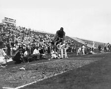 1935 Ohio State JESSE OWENS Glossy 8x10 Photo 'Long Jump' Print College Poster