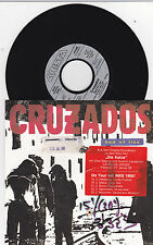 "CRUZADOS bed of lies 7"" b/w chains of freedom OST Die Katze"