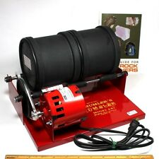 6 lb ROCK POLISHER Thumlers Tumbler 6 lb capacity 2 barrels NIB
