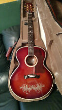 ESTEBAN Amber Ice Jumbo Acoustic Electric GUITAR Limited Ed.