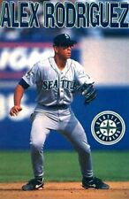 "SPORTS POSTER~Alex Rodriguez 1997 22x34"" STARLINE Seattle Mariners Vintage Rare~"