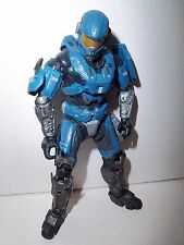 Halo Reach **BLUE STEEL HAZOP SPARTAN** McFarlane Figure Loose!!