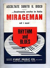 MIRAGEMAN ED I SUOI RHYTHM AND BLUES#Spartito First Music Co.1967#Gulp-Thrilling