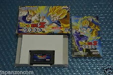 DRAGON BALL Z BUKU TOGEKI DBZ GAME BOY ADVANCE GBA NINTENDO JAPANESE JAPAN JP