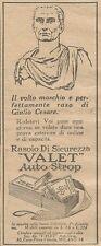 W1380 Rasoio di sicurezza VALET Autostrop - Pubblicità 1926 - Vintage Advert