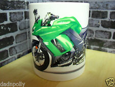 KAWASAKI 650 NINJA - CERAMIC MUG - IDEAL GIFT - PERSONALISED IF REQUIRED