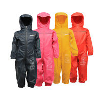 Regatta Puddle III Boys Girls Waterproof Breathable Onsie All-In-One Splash Suit