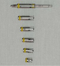 1pc DRILL 2.5 + 4ps STOPPERS ! Make a choice stoppers ! for DENTAL IMPLANTS $160