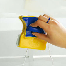 Magnetic Window Double Side Glass Wiper Cleaner Cleaning Brush Pad Scraper CS