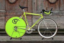Pinarello Prologo Crono Time Trial TT Steel tubing Campagnolo C Record Size 53