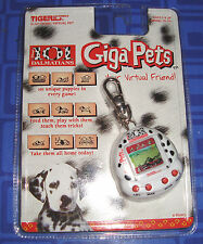 DISNEY 101 DALMATIANS GIGA PET TIGER LCD GAME DOG CYBER POCKET KEYCHAIN NEW
