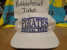 SETON HALL PIRATES THE GAME VINTGE SNAPBACK HAT CAP 3 BAR