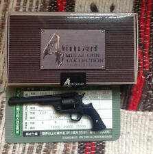 Biohazard 4 Resident Evil Promo Magnum Miniature Cast Iron Metal Gun Collection