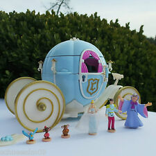 Mini Polly Pocket Disney Kutsche Cinderella Royal Wedding Carriage Bluebird 1999