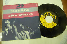 "SAM&DAVE""KNOCK IT OUT THE PARK-disco 45 giri ATLANTIC Fr-1967"""