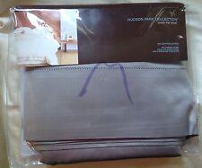 Hudson Park Collection Flat Sheet Queen 600TC Mercury 100% Cotton Retail $150.00